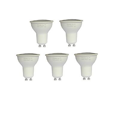 8W GU10 Точечное LED освещение MR16 15 SMD 3020 720 lm Тёплый белый AC 220-240 V 5 шт.
