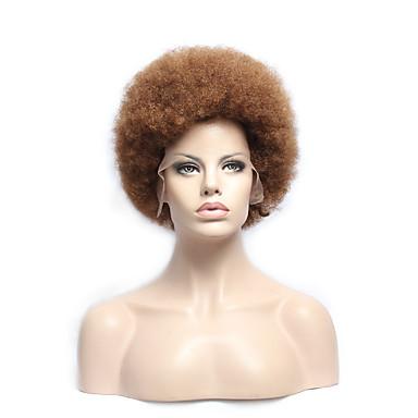 в наличии 10-30inch афро прямо с ребенком волос кружева перед парики 100% бразильской девственной человеческих волос парик ü часть для