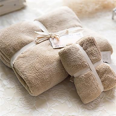 Style frais Serviette de bain,Solide Qualité supérieure 100% Molleton Serviette