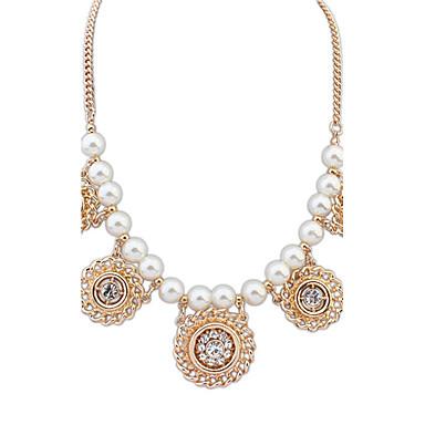 Damen Niedlich Party Büro Freizeit Europäisch Modisch Anhängerketten Perlenkette Perle Künstliche Perle Aleación Anhängerketten