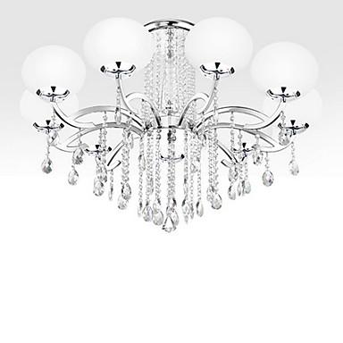 Lightinthebox Moderno / Contemporâneo Lustres Luz Superior - Cristal, 110-120V 220-240V Lâmpada Não Incluída