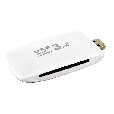 usb 3.0-porter / grensesnitt usb-hub kortleser jf sd 8 * 4 * 1