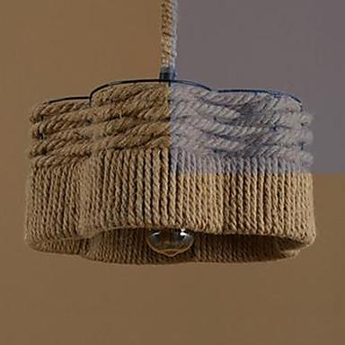 Lampe suspendue ,  Rustique Autres Fonctionnalité for LED MétalSalle de séjour Chambre à coucher Salle à manger Bureau/Bureau de maison