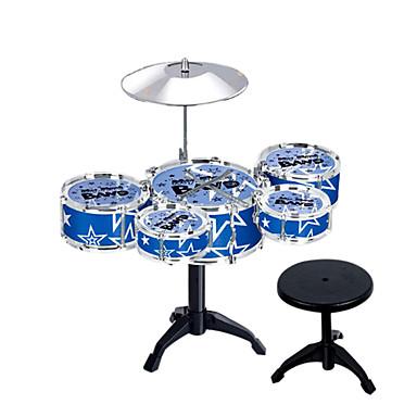 rot / blau / ourple Simulation Kind Jazz Schlagzeug für Kinder unter 3 Musikinstrumente Spielzeug