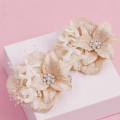 Strass Stoff Blumen Kopfschmuck klassischen weiblichen Stil