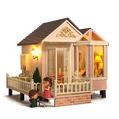 chi casa de diversão cabana DIY convenção doce a-012-house lado criativo bom presente