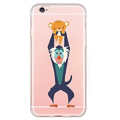 Capinha Para iPhone 7 Plus iPhone 7 iPhone SE/5s/5 iPhone 5 Apple iPhone X iPhone X iPhone 8 Capinha iPhone 5 Ultra-Fina Transparente