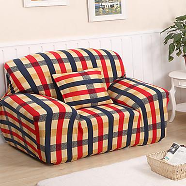 Modern Polyester Sofabezug, Dehnbar Anti-milben Solide Überzüge