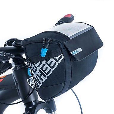 ROSWHEEL 3 L Vesker til sykkelstyre Fukt-sikker, Anvendelig, Støtsikker Sykkelveske PU Leather / Klede / Net Sykkelveske Sykkelveske Sykling / Sykkel / Vanntett Glidelås