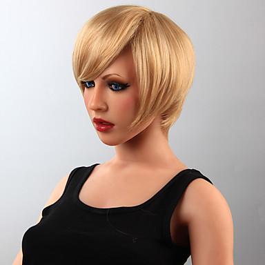Art und Weise Menschenhaar Perücke kurze Haare Perücke 15 Farben zur Auswahl