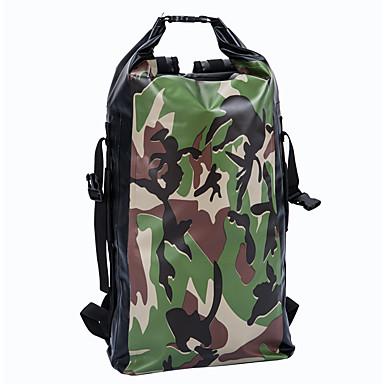 Yocolor 40L L hátizsák Utazás Duffel Vízálló Dry Bag Kerékpár Hátizsák Hátizsákok Kempingezés és túrázás Síelés Halászat Mászás