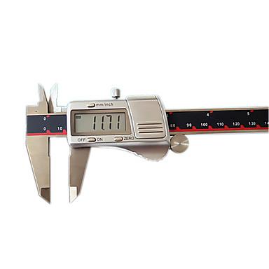 0-200 mm 0,01 3v concha de metal paquímetro digital instrumento ferramenta levelmeasuring eletrônico