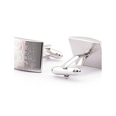 Sølv Mansjettknapper Legering Kontor / Fritid Herre Kostyme smykker Til