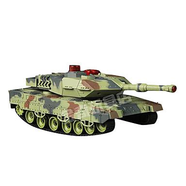 HUANQI 550 Tank Radiostyrt Bil Klar-Til-Bruk Fjernkontroll Tank Batteri for bil Batterilader Brukerhåndbok