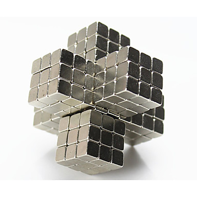 Jouets Aimantés Blocs de Construction Boules Magnétiques 216 Pièces 4mm Jouets Aimant Carré Cadeau