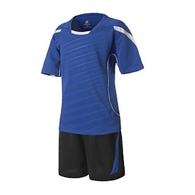 Crianças Futebol Shorts shirt + Conjuntos de Roupas/Ternos Respirável Secagem Rápida Primavera Verão Outono Inverno Clássico Terylene