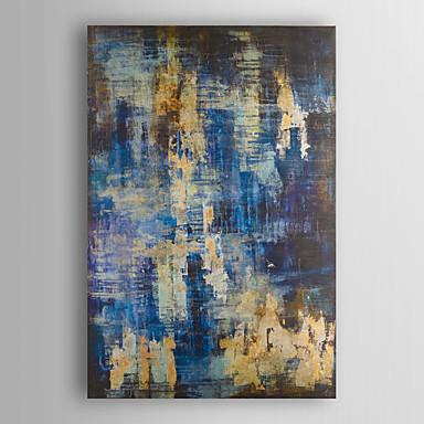 Handgemalte Abstrakt Vertikal, Modern Segeltuch Hang-Ölgemälde Haus Dekoration Ein Panel