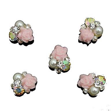 10 Nagelschmuck Andere Dekorationen Obst Blume Abstrakt Klassisch Zeichentrick lieblich Hochzeit Punk Alltag Obst Blume Abstrakt