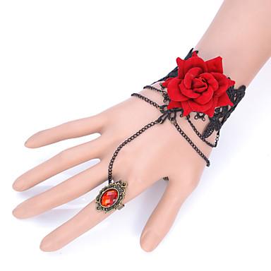 Damen Ring-Armbänder Modisch Einstellbar Spitze Schmuck Für Party Alltag Normal