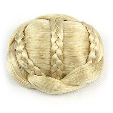 Blondine Klassisch Haarknoten Gute Qualität Chignons / Haarknoten Haarstück Haar-Verlängerung Klassisch Alltag