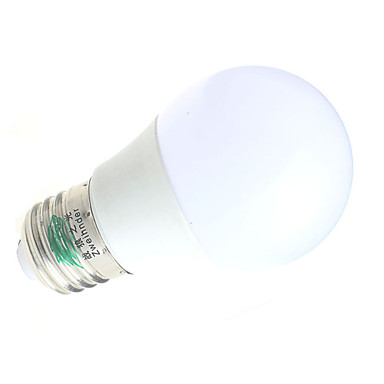 3W E26/E27 LED gömbbúrás izzók A60(A19) 6 SMD 5730 280 lm lm Meleg fehér / Hideg fehér Dekoratív AC 85-265 V 1 db.