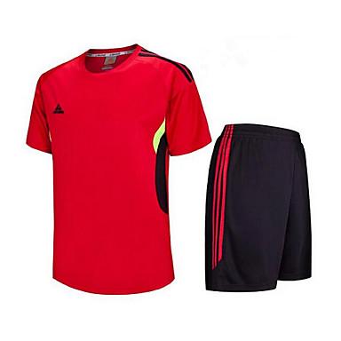 Crianças Futebol Shorts shirt + Conjuntos de Roupas Secagem Rápida Respirável Primavera Verão Inverno Outono Clássico Terylene Exercício