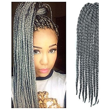 Synthetische Haare Haar-Verlängerung Wellen Klassisch Alltag Gute Qualität Damen Synthetische Erweiterungen