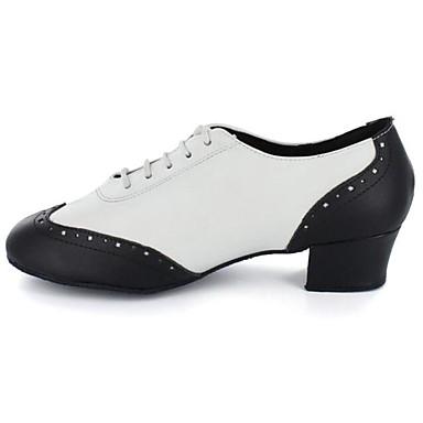 Sapatos de Dança(Preto) -Masculino-Personalizável-Jazz / Moderna