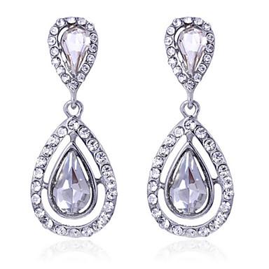 povoljno Naušnice-Žene Bijela Kristal Viseće naušnice Kubični Zirconia Naušnice Jewelry Obala Za 1pc