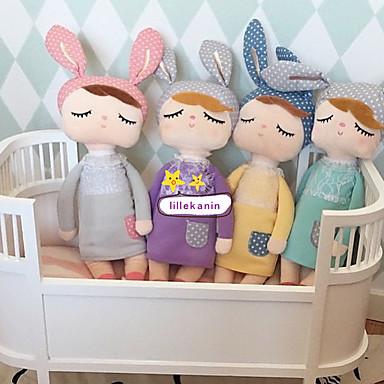 Baby-Spielzeug weich 35cm schönes Geschenk Weihnachten Kaninchen Puppe Spielzeug angela Plüsch Puppen Tuch Mädchen Geburtstag