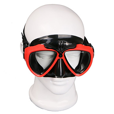 povoljno Sportski aparati i oprema za GoPro-Zaštitne naočale Ronilačke maske Montirati Vodootporno Prilagodljiv 1 pcs Za Akcija kamere Gopro 6 Sport DV Gopro 5/4/3/3+/2/1 Ronjenje PU koža plastika