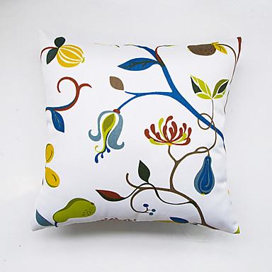 1 Stück Polyester Kissenbezug, Blumen Geometrisch Freizeit