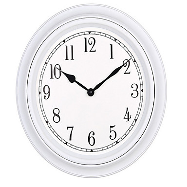 Rond Moderne/Contemporain Horloge murale,Autres Plastique 30*30*4.8