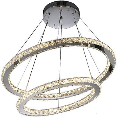 Lustres ,  Contemprâneo Galvanizar Característica for Cristal LED MetalSala de Estar Quarto Sala de Jantar Cozinha Quarto de