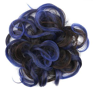 Perücken Klassisch Gute Qualität Blau Alltag