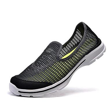 Wasser-Schuhe Herren Schuhe Tüll Grün / Grau