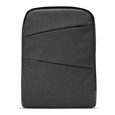 pofoko® 15,6 pouces 26l imperméable oxford tissu ordinateur portable sac à dos noir / gris