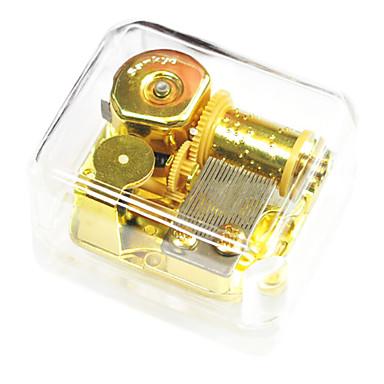 abs gold kreativ für Geschenk romantische Musik-Box