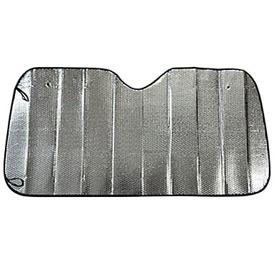 140 * 70 Aluminiumautofrontscheibe Sonnenschutz Sonnenschutz