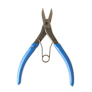 keiba® pl-786 ferramentas manuais braçadeira de saída do corpo fina de plástico tesoura hardware de 5 polegadas