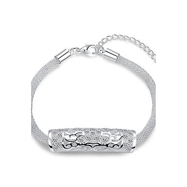 Damen Ketten- & Glieder-Armbänder Luxus-Schmuck versilbert Tierform Silber Schmuck Für Hochzeit Party Alltag Normal 1 Stück