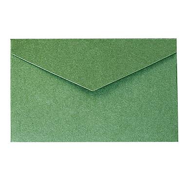 5 elegante Goldfolie Umschlag Geschäftseinladung (Farbe zufällig)