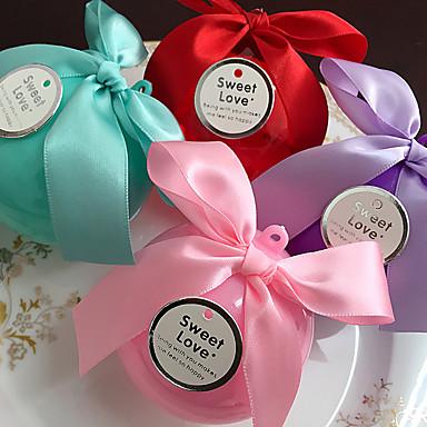 Kugel Kunststoff Geschenke Halter mit Schleife Geschenkboxen Geschenk Schachteln Süßigkeiten Gläser und Flaschen