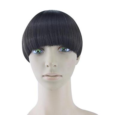שיער אדם חום מתולתל קינקי טווה chignons 4005
