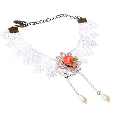 Femme Bracelet de cheville / Bracelet Dentelle Original Sexy Mode Bracelet de cheville Autres Bijoux Pour Mariage Quotidien Décontracté