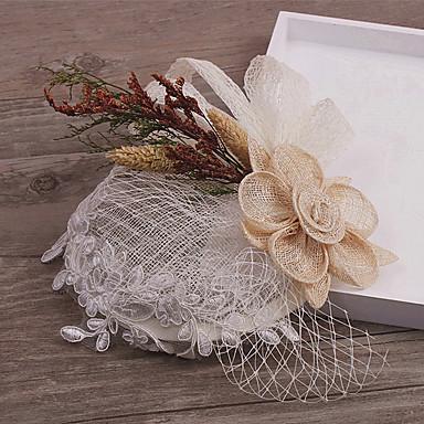Fascinator Kopfschmuck Hochzeitsgesellschaft elegant feminin Stil