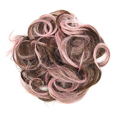 פאות סינתטיות / שיניון (פקעת) קלאסי תספורת שכבות שיער סינטטי פאה