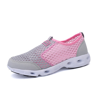 Sko-Tyll-Flat hæl-Ballerina / Original-Flate sko / Trendy sneakers / Sportsko-Bryllup / Friluft / Kontor og arbeid / Fritid / Sport /