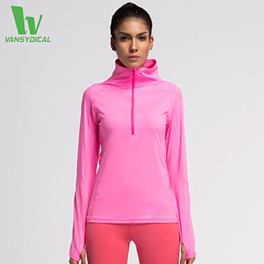 בגדי ריקוד נשים ריצה טי שירט צמרות ייבוש מהיר דחיסה חומרים קלים תומך זיעה אביב קיץ סתיו בגדי ספורט ריצה