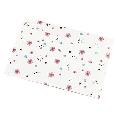 flores de cerejeira envelope do cartão (10 peças)